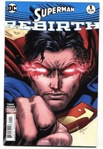 Superman #1-2016 Rebirth DC First issue comic book - $22.70