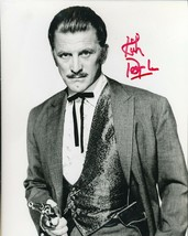 "Kirk Douglas signed ""gunslinger"" photo. Spartacus. A - $29.95"