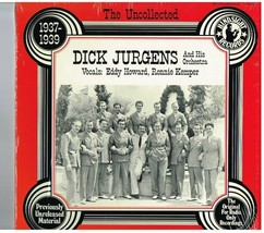 1977 Hindsight LP Record Album; Dick Jurgens & Orchestra;1937-1939 - $0.99