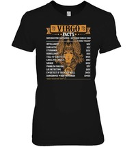 Virgo Facts T Shirt Funny Zodiac Birthday Tee For Virgo - $19.99+