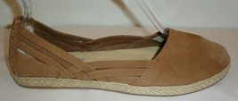 UGG Australia Size 6.5 TIPPIE Chestnut Espadrille Flats Loafers New Womens Shoes - $117.81