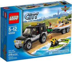 LEGO City 60058 SUV with Watercraft Building Set Toy New - $49.99