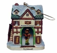 Hummel Christmas ornament figurine goebel Bavarian Bradford practice per... - $29.65