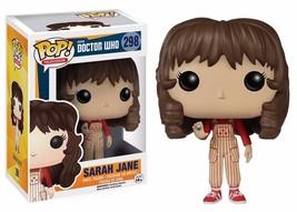 Doctor Who Companion Sarah Jane Smith Vinyl POP Figure Toy #298 FUNKO NEW NIB - $8.79