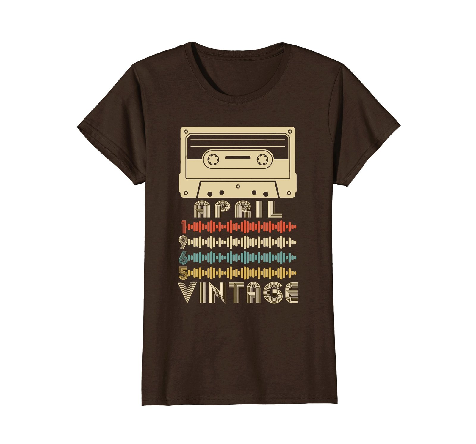 Funny Shirts - Vintage Retro Made In April 1965 53rd Birthday Gifts 53 yrs Wowen