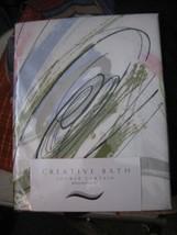 Shower Curtain Swirl New Multi Colors. - $24.25