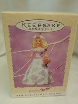 Hallmark Keepsake Ornament Springtime Easter Collection Barbie 1995 -1st in - $5.89
