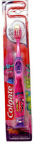 Colgate Childs Manual Toothbrush Trolls Pink with Suction Base Extra Soft Age 5+ - $9.89