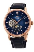 Orient Classic SUN&MOON RN-AS0004L Mechanical Men's Watch Blue gradient 2018 NEW - $779.98