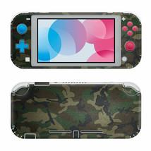 For Nintendo Switch Lite Protective Vinyl Skin Wrap Green Camo Decal  - $12.84