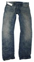 NEW DIESEL MEN'S PREMIUM DENIM REGULAR SLIM STRAIGHT DESIGNER JEANS SAFADO 0811M image 3