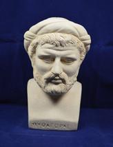 Pythagoras sculpture bust ancient Greek philosopher great mathematician statue - $79.99