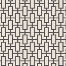 Luxor Print Wallpaper Black, Beige Norwall Wallcovering SH34508 - $38.60