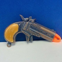 Antique cap gun Victory Hong Kong miniature key chain pocket pistol toy ... - $24.05