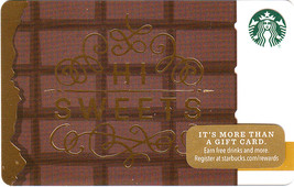 Starbucks 2016 Hi Sweets Collectible Gift Card New No Value - $4.99