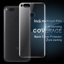 IMAK 2Pcs Packing Back Soft Hydrogel Protector Film for Xiaomi Mi A1 / 5X - $9.63
