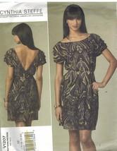 1207 non Découpé Vogue Patron de Couture Femmes Robe Coupe Moulante un M... - $8.94
