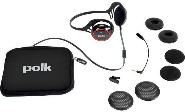 Polk Audio UltraFit 2000 sports headphones (Black/Red) image 6