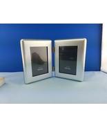 NIB Northrop Grumman Presentation Photo Picture Frame Brushed Silver 2-H... - $19.06