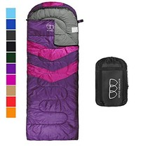 Sleeping Bag – Sleeping Bag for Indoor & Outdoor Use - Great for Kids, B... - $33.70