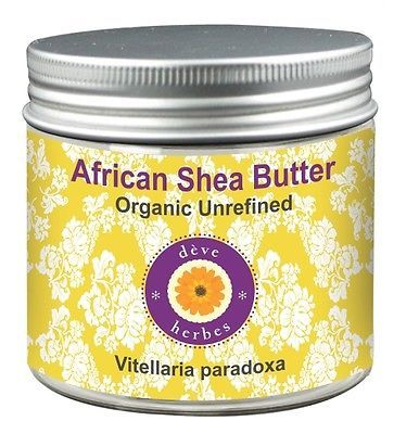 Organic African Shea Butter Unrefined Vitellaria paradoxa 50gm 100% Natural - $12.44