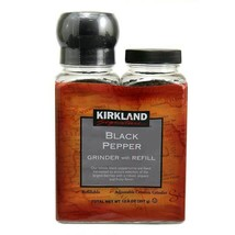 Kirkland Signature Black Pepper with Grinder, 6.3 oz, 2-count - $17.63
