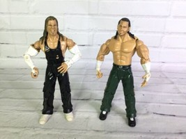 2004 Jakks Pacific WWE Hardy Boyz Jeff Matt WrestleMania 24 Wrestling Figure Lot - $39.59