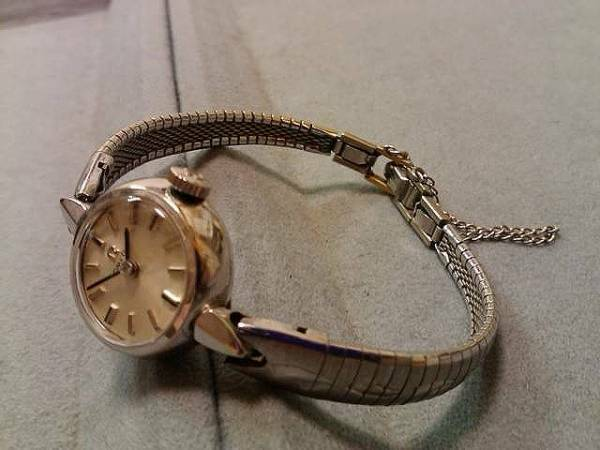 Omega Ladies hand-wound watch Free Shipping Japan Authentic