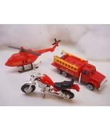 Fire and Emergency Toy play set vintage set Edit item   Reserve item - $9.99