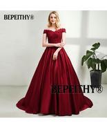 Bridesmaid  Satin and Lace wedding  Dress Vintage Bridesmaid, Evening. P... - $179.99+