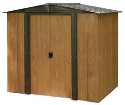 Arrow WL65 Woodlake 6-Feet by 5-Feet Steel Storage Shed - $467.19