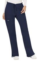 Cherokee Workwear Women's Mid Rise Moderate Flare Drawstring Scrub Pant - $24.99
