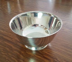 Wm. A. Rogers Medium Silver Plated Bowl, Paul Revere Reproduction - $34.99