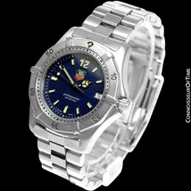 Tag Heuer Professional 4000 Mens Midsize Stainless Steel Watch - Mint With Warra - $975.10