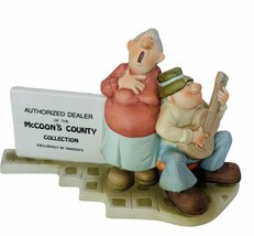 Mccoons County Figurine Samsons Authorized Dealer Mama Sang Tenor Signed... - $39.55