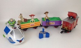 Thinkway Toys Toy Story 2 Interactive Talking Train w Remote  NON-WORKIN... - $89.05