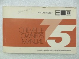 1975 CHEVELLE  Owners Manual 16039 - $18.76