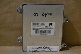 2007 Chevrolet Optra AT Engine Control Unit ECU 96851087 Module 01 10D4 - $14.84
