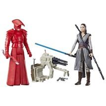 """Star Wars Force Link Rey & Praetorian Guard 3.75"""" Action Figures 2 Pack  - $16.81"""