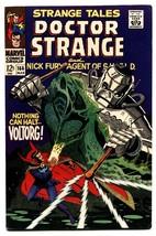 STRANGE TALES #166-comic book-DOCTOR STRANGE/NICK FURY-STERANKO VF - $74.50