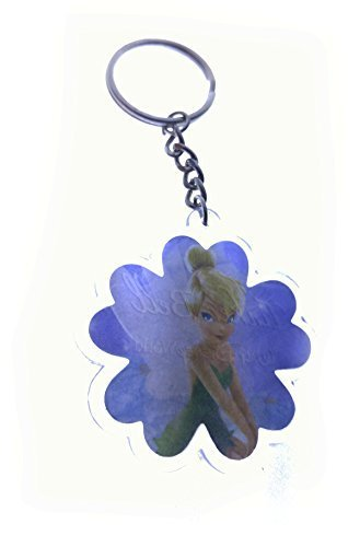 Disney Tinkerbell Acrylic Flower Key Chain