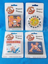 Psycho Chihuahua 4 Pc Refrigerator Magnet Bite Me My Dog Ate It Back Off... - $16.82