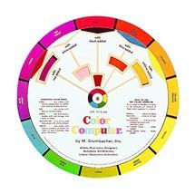 """Grumbacher Computer Color Wheel, 8"""" dia. - $10.28"""