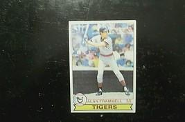 1979 Topps Detroit Tigers Alan Trammell #358 - $2.43