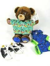 """Build a Bear National Teddy Bear Day 2018 With Tag Hawaiian Shirt Shoes PJs 15"""" - $35.83"""