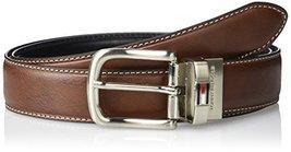 Tommy Hilfiger Men's Reversible Belt, Brown/black, 30