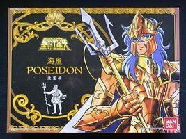 Bandai Saint Seiya Knights of the Zodiac Poseidon Julian Solo Action Figure Rare - $62.99