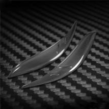Carbon Fiber Car Headlight Cover Eyebrows Eyelid Trim  For Toyota Sienna... - $69.29