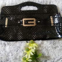 Guess black purse clutch - $34.99