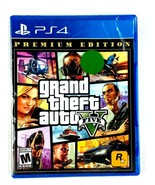 Grand Theft Auto V GTA 5 Premium Edition - PS4  NEW FACTORY SEALED  - $23.75